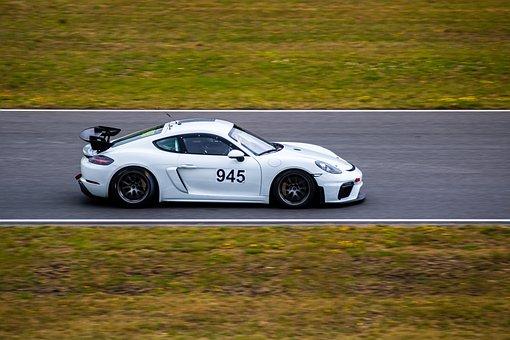 Car Racing, Motorsport, Racing Car, Porsche, Race Track