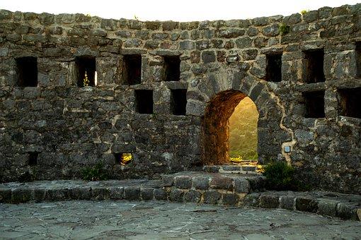 Montenegro, Bar, Nature, Tower, Fort, Castle