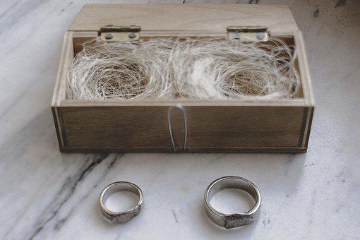 Ring, Wedding, Couple, Ceremony