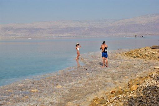 Dead Sea, Salt, Sea, Israel, Nature, Vacations, Water
