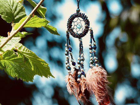 Dream Catcher, Summer, Feather, Ease