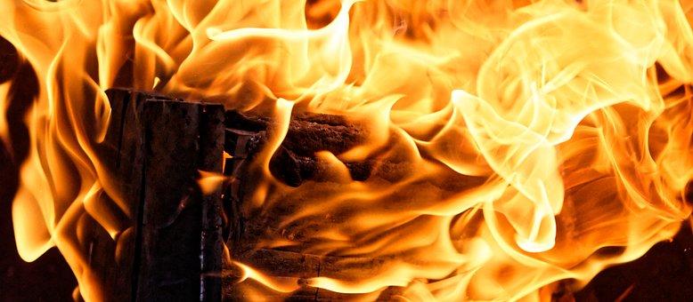 Fire, Flame, Wood, Burn, Heat, Hot, Light, Glow, Embers