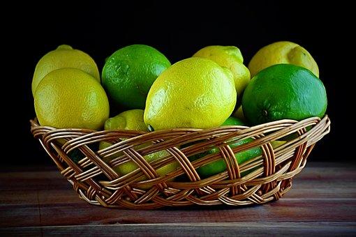 Lemon, Lime, Fruit, Citrus, Food, Fresh, Sour, Healthy