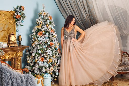 Christmas, Xmas, Decoration, Tree, Pine, Dress, Home