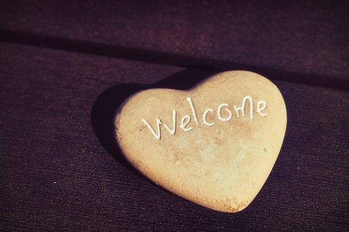 Heart, Welcome, Love, Feelings, Luck, Symbol