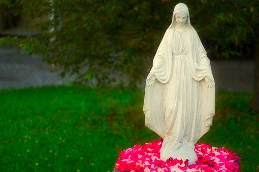 Madonna, Religion, Light, Maria, Faith, Christianity