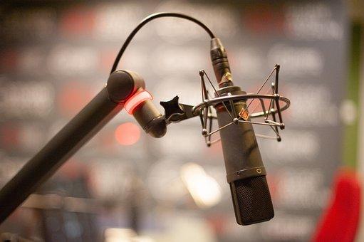 Microphone, Radio, Mic, Studio, Audio, Record, Voice