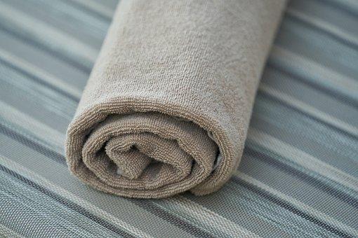 Towel, Sunbeds, Bathroom, Wet, Dry, Moist, Cleaning