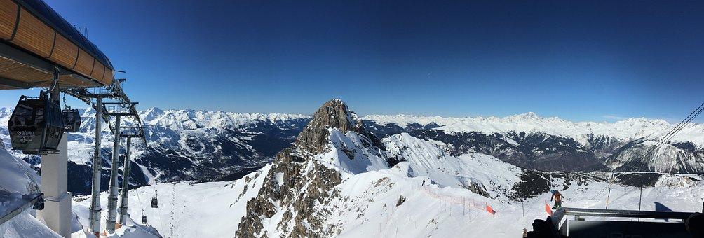 Mountain, Sky, Landscape, Mountains, Nature, Summit