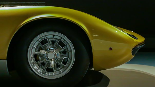 Oldtimer, Lamborghini, Auto, Sports Car, Vehicles