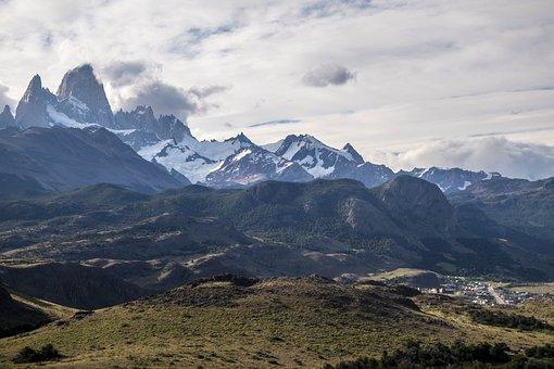 Fitzroy, Mountain, Landscape, Argentina, Patagonia
