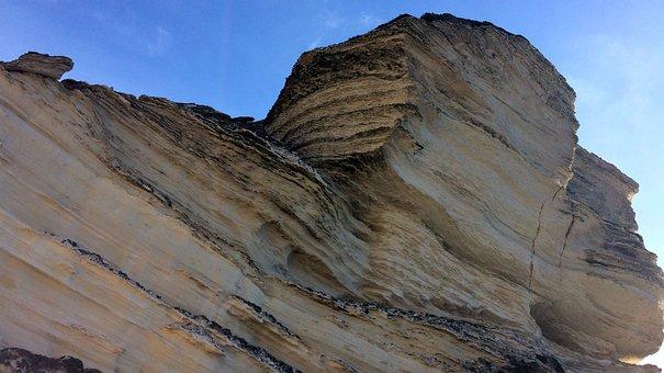 Bonifacio, Corsican, Cliff, Sea, Side, Cliffs, Nature