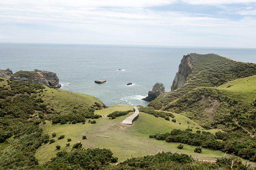 Island, View, Ocean, Chile, Chiloe, Sea, Water