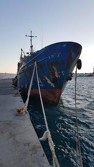 Krtea, Agia Galini, Port, Ship, Soul Seller