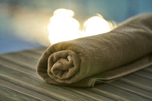 Pool, Towel, Hotel, Fabric, Textile, Holiday, Spa