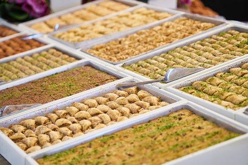 Baklava, Sugar, Cultural, Traditional, Sweet, Dough