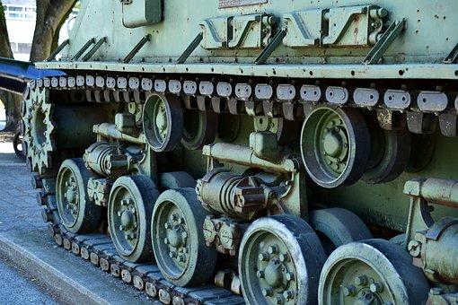 Tank Tracks, Tank Wheels, Sherman Suspension Wheels