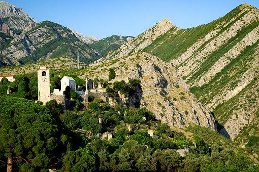 Montenegro, Bar, Old, Mountains, Nature, Tourism
