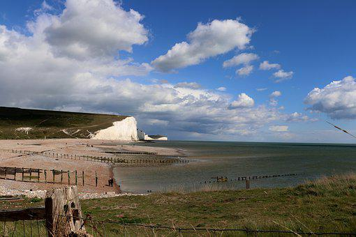 White Cliffs, England, Coast, Cliffs, United Kingdom