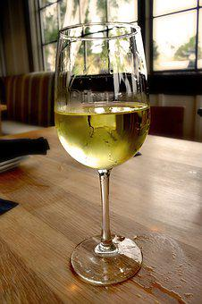 White Wine, Drink, Glass, Drinks, Alcohol, Grapes