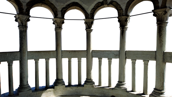 Venice, Arches, Italy, Arch, Building, Palace, Old