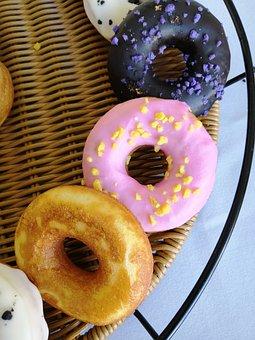 Donuts, Bagels, Dessert, Breakfast