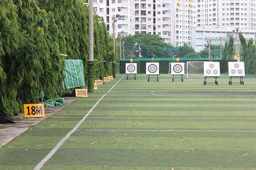 Archery, Beer Archery, Ho Chi Minh City, Vietnam, Kien