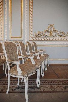 Chair, Armchair, Hall, Interior, Blank