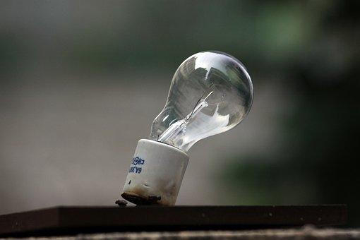 Light Bulb, The Old Bulb, Broken Bulb, Lamp