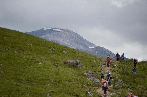 Climbing, Hills, People