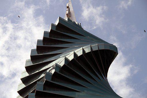 Tower, Contemporary, Architecture, Building, Urban