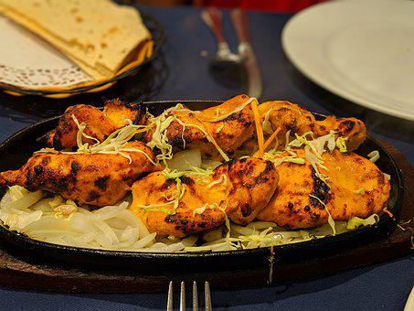 Tandoori, Chicken, Curry, Cooking, Food, Taste, Spice