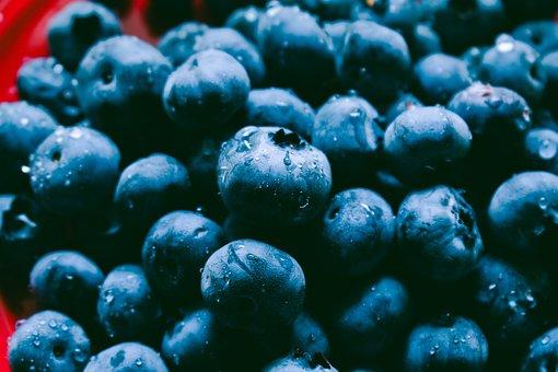 Blueberry, Berry, Fruit, Delicious, Diet, Breakfast