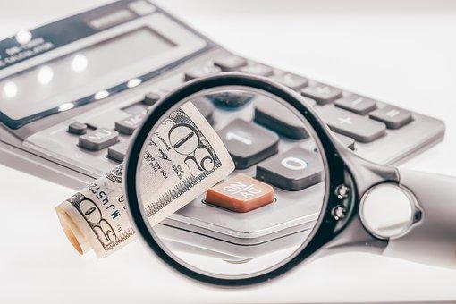 Money, Magnifier, Economy, Dollars