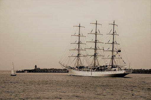 Boat, Ship, Sailboat, Sailing, Mast, Nautical, Marine