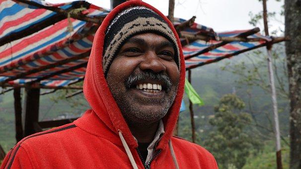 Man, Sri Lanka, India, Happy, People, Adult, Portrait