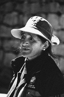 Elderly Woman, Women, Field, Portrait, Person, Grow Up