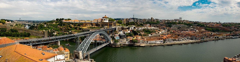 Panorama, Porto, Portugal, Bridge, Louis, Duero, City