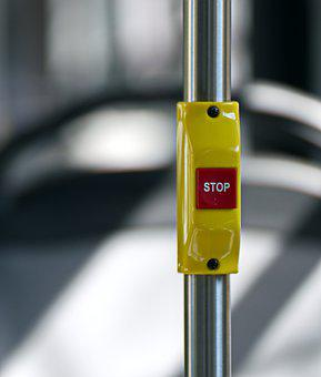 Button, Stop, Electric, Red, Square, Off, The Alarm
