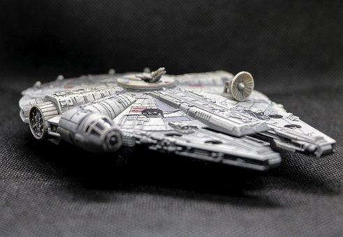 Spaceship, Millennium Falcon, Toy