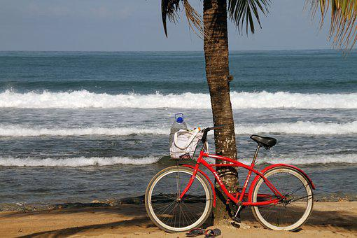 Bicycle, Transport, Clean, Beach, Sand, Cycling, Cycle