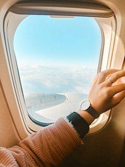 Travel, Fly, Aircraft, Sky, Flight, Clouds, Adventure