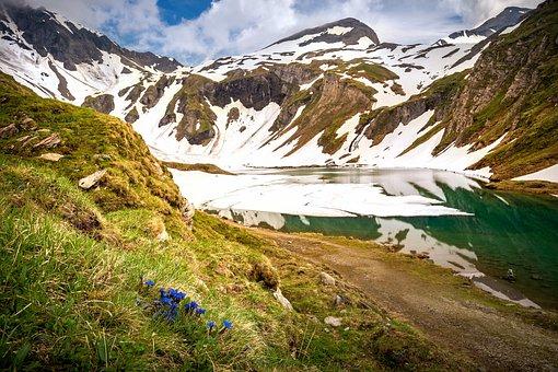 Alpine, Mountains, Bergsee, Wet Storage
