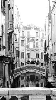 Venice, Street, Architecture, Canal, Travel, Cityscape