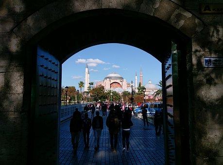 Istanbul, Hagia Sophia, Islam, Cami, Turkey, Minaret
