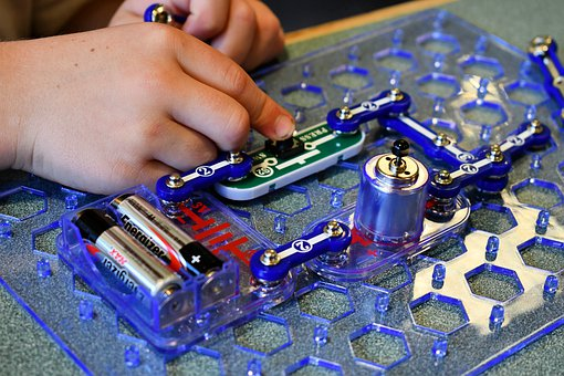 Circuitry, Child, Learning, Electronics