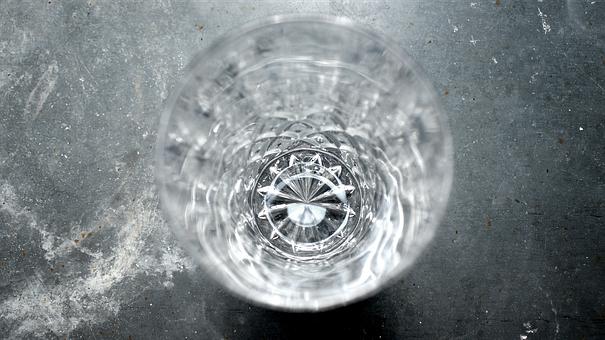 Glass, Crystal, Crystal Glass, Window Sill, District