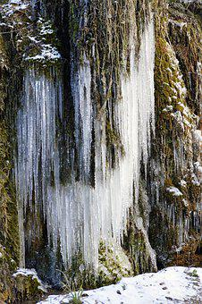 Winter, Snow, Cold, Mountain, Ice, Crystals, Snowfall