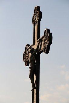 Sky, Cross, Jesus, Faith, Christ, Christianity