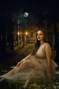 Fantasy, Dark, Gothic, Portrait, Fantasy Portrait, City